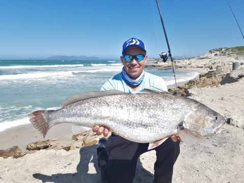 kob fishing south africa MMM cape town fishing adventures wikus
